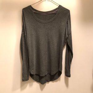 Yoga sweater top